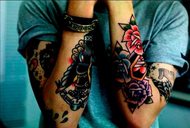 Tatuajes en el brazo: características