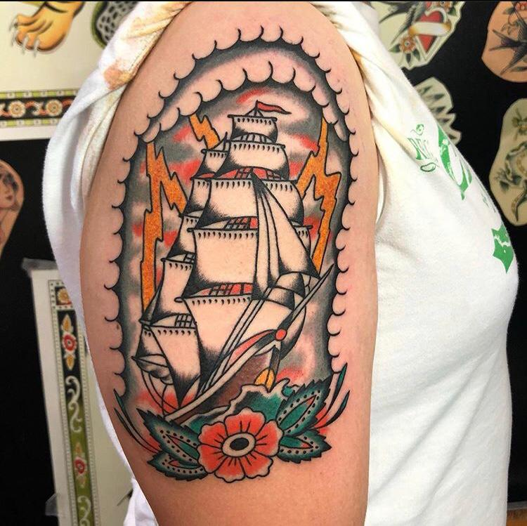 tatuaje tradicional en Barcelona